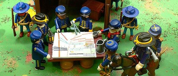 Diorama Playmobil Arturo Soria Plaza