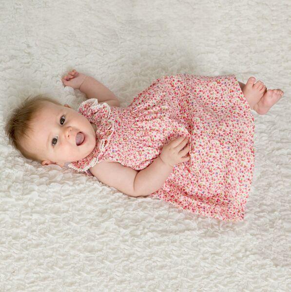 Linzi Rose Rouge Mini Flower Dress