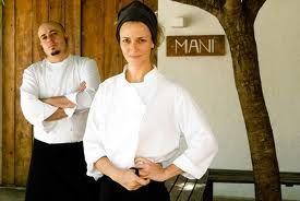 Chef Helena Rizzo and husband Daniel Redondo of Mani restaurant in Sao Paulo, Brazil