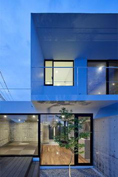 This Strikingly Modern Home Is Located In The Suburbs Of Sendai, And Is  Designed By Apollo Architects U0026 Associates.