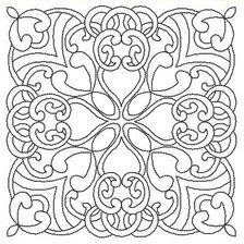 8 Celtic outlines - would make pretty quilt squares-celtic quilt--maybe for Megan?