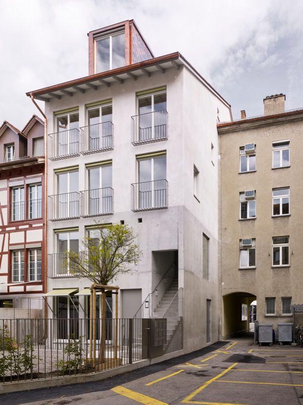 Wohnhaus Neumarkt 5 in Winterthur von KilgaPopp Architekten, Winterthur