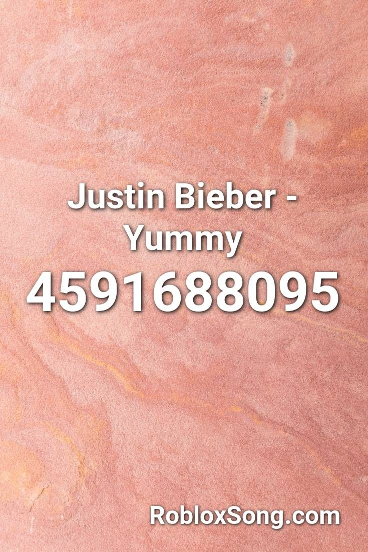 Justin Bieber Yummy Roblox Id Roblox Music Codes In 2020