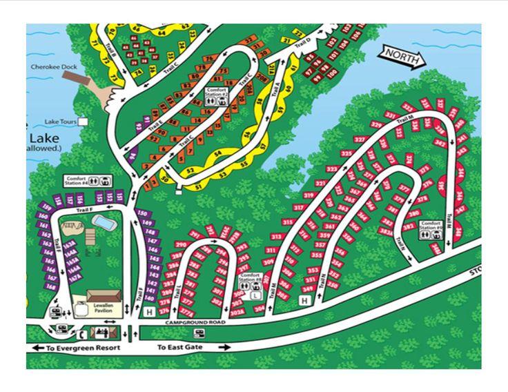 Stone mountain map