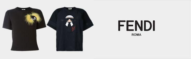 Fendi Bayan Tişört - Fendi Kadın Tişört Modelleri