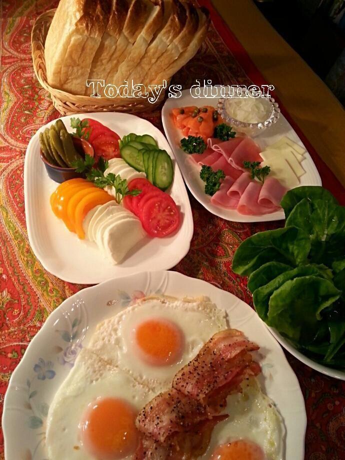 セルフサンドイッチ♪   #バニラご飯  #うちご飯 pic.twitter.com/oiREhYXrtr
