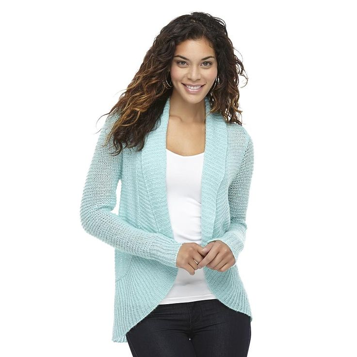 Juniors Sweaters Looking for a versatile layer that can provide the perfect amount of warmth to ward off seasonal chills? Browse the beautiful assortment of juniors' sweaters and find a style and size that fits your needs.