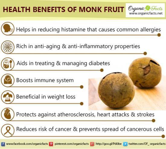 monk fruit sweetener soursop fruit