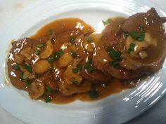 Dikas na Cozinha: lagarto ao molho de vinho tinto com champignon