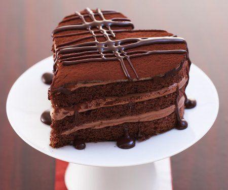 Rezept: Schokoladenherz