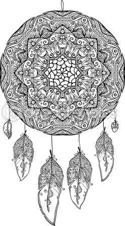 M s de 1000 im genes sobre patrones y dise os en pinterest for Acchiappasogni disegno