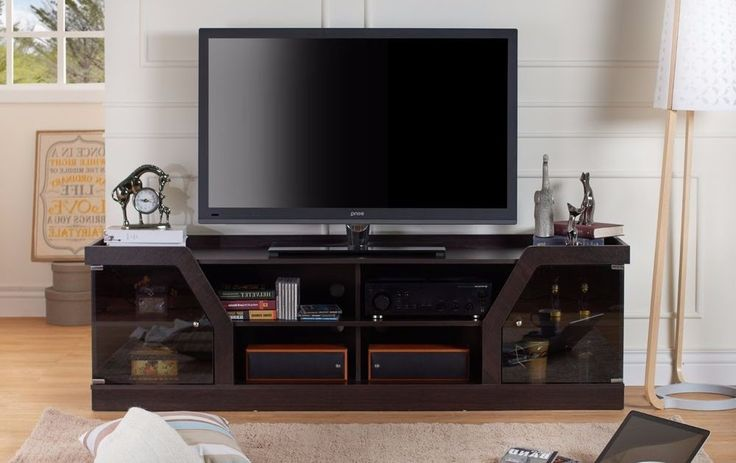 TV Stand For Flat Screens 4k HD 65-70 Inch Entertainment Center Table Hub Center