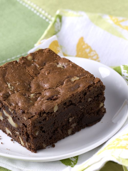 Schokoladen-Walnuss-Brownies