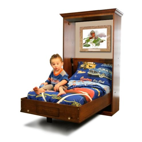 Toddler Murphy Bed | Kids | Pinterest | Murphy Beds, Beds ...