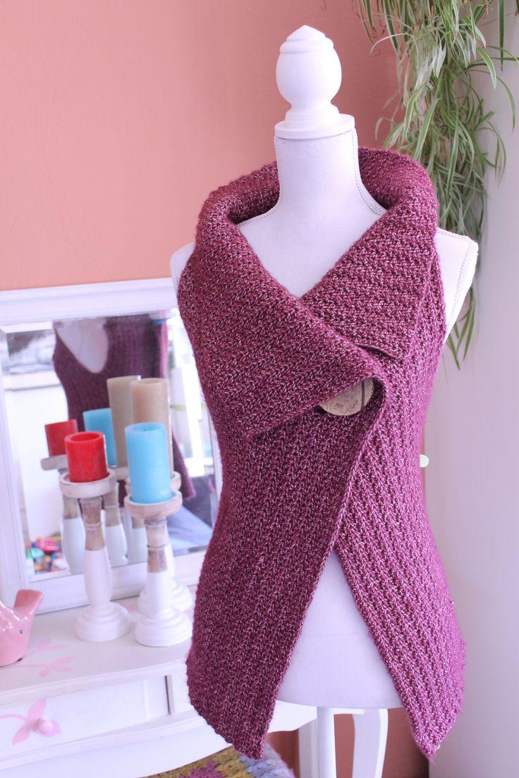 243 best haken omslagdoek sjaal of poncho crochet shawl scarf peek a boo button wrap pattern size s xl bankloansurffo Gallery