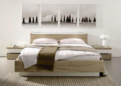 Inspiration Bedroom Artwork Arrangements From H Lsta