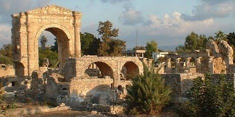Source of prized Tyrian Purple dye and home base of those legendary master traders, the Phoenicians, Tyre was truly a wonder of the ancient world. The city was located on a walled island just off the coast of Lebanon and managed to thwart every siege until Alexander the Great built a causeway so his soldiers could march up to the city walls.