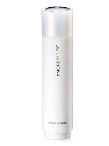 Amore Pacific Treatment Enzyme Peel. Once a week for softer skin. I LOVE this so much!!!!!!!!!