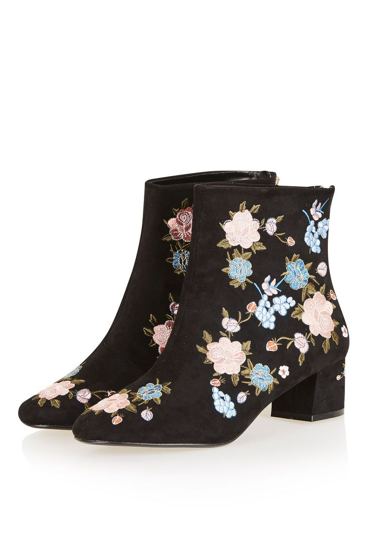 17 best ideas about Floral Ankle Boots on Pinterest | Dress ...
