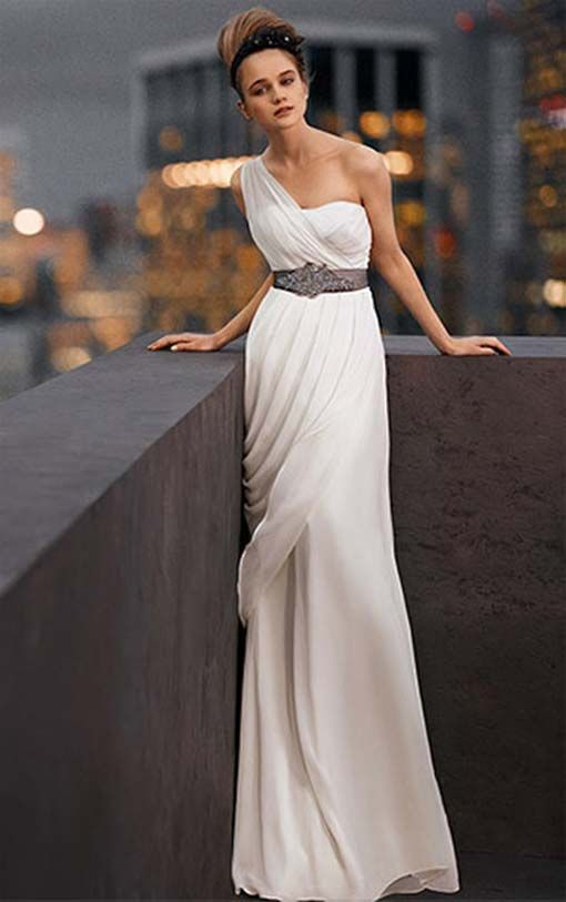 Wedding dress vera lovely greek goddess dress greek for Grecian goddess wedding dresses