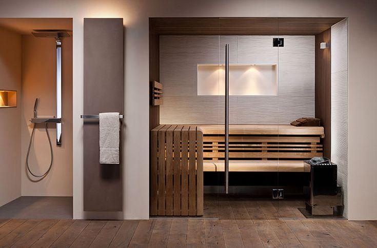 Waar de sauna vroeger voornamelijk voor de gezondheid gebruikt werd, is het tegenwoordig een gelegenheid waar verzorging en ontspanning hand in hand gaan me