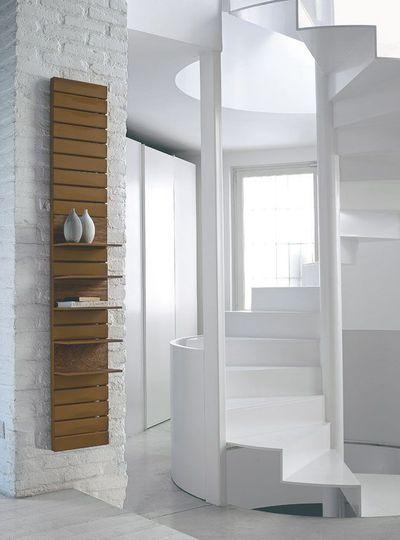 Un radiateur Comme une colonne - Plus de 25 radiateurs design, déco et vintage - CôtéMaison.fr