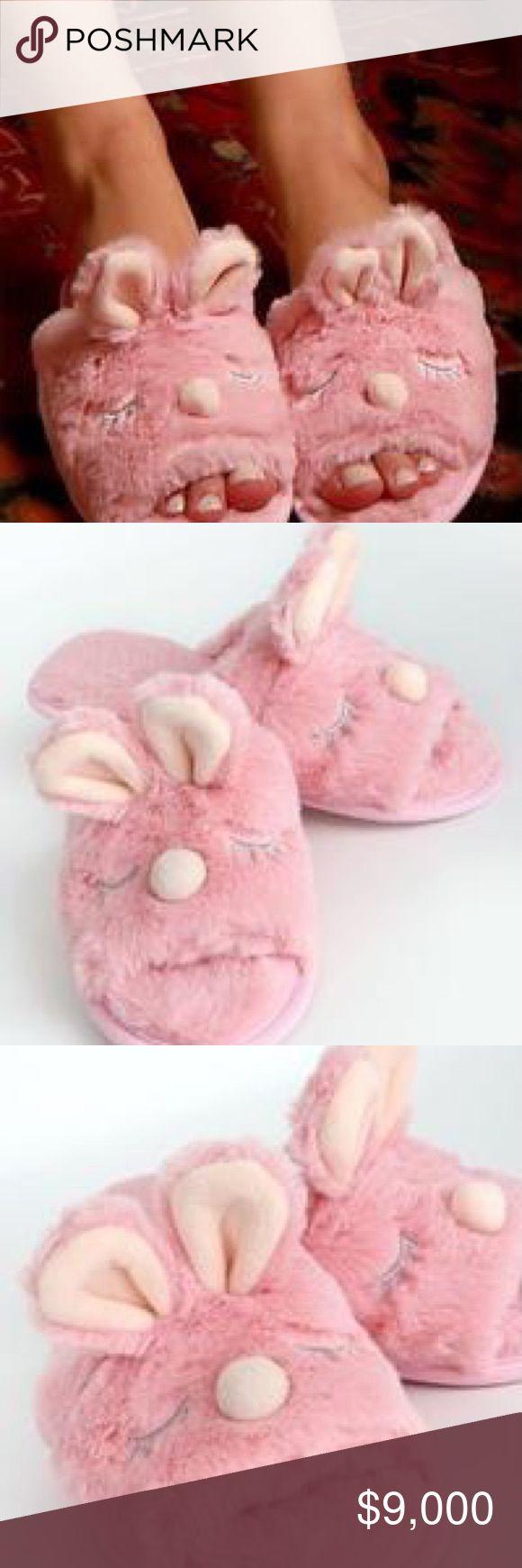 Pink FLAMINGO BEDROOM SLIPPERS  Size MEDIUM  7-8 Ladies Super Soft /&  Fluffy NEW
