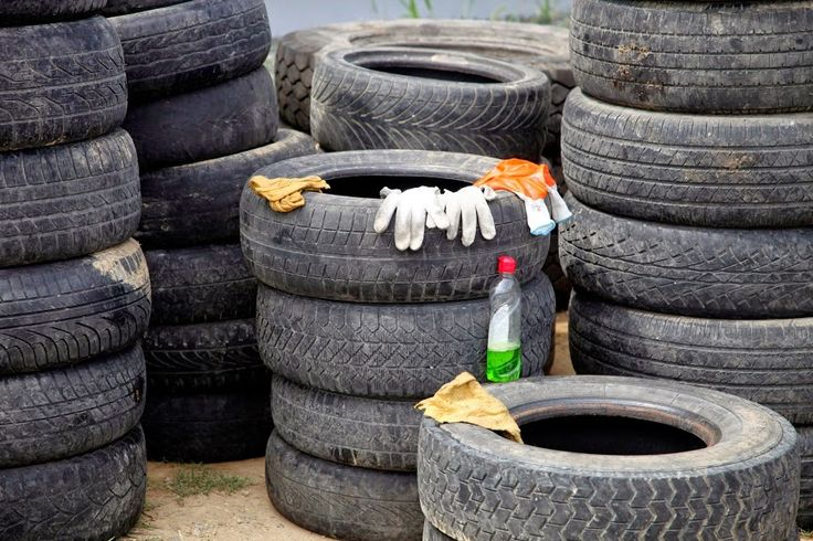 tires where to: car scrappage place