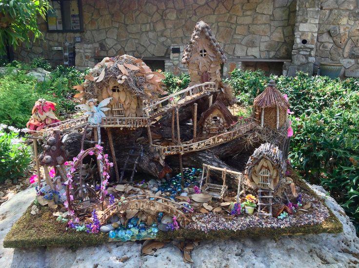 Free Fun In Austin: Faerie Homes Return To Zilker Botanical Garden March 16