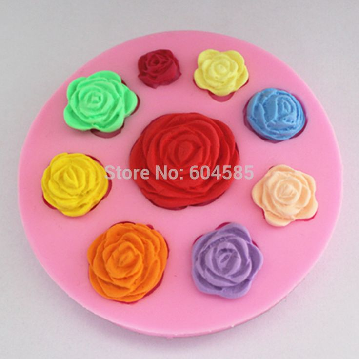 Cheap mold candle, Buy Quality soap powder directly from China soap mold Suppliers: non stick Sugar paste, Chocolate, Fondant, Butter, Resin, Cabochon, Polymer Clay Mold, Soap Mold, dia 10.2cm h 1.2cm    FM007