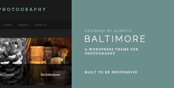 Baltimore - #Wordpress #Responsive Template - #html5 #css3 #jquery slider ready