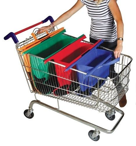 These bags would make the Aldi shopping experience so much easier! Especially useful as WA is going plastic bag free this year. I'd love them in funky prints but haven't seen any around