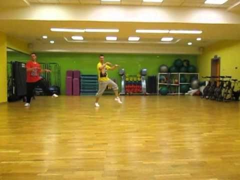 aero-dance choreography
