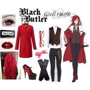 black butler inspired outfits | Black Butler - Sebastian - Polyvore