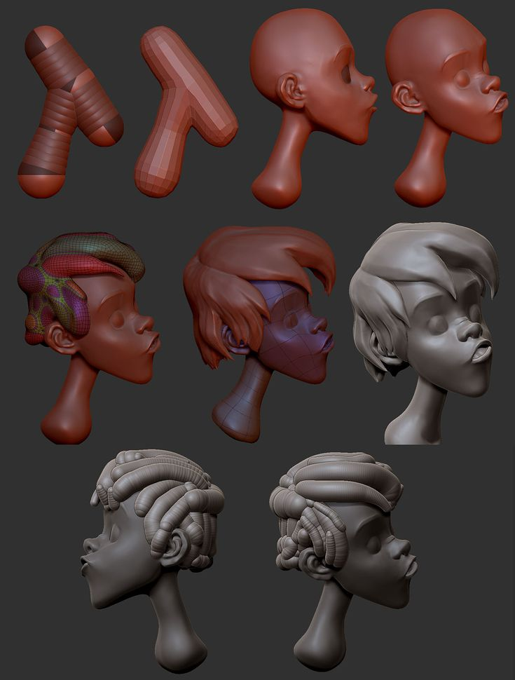Brushes For Character Design : Zbrush trickzzz making arthur g head