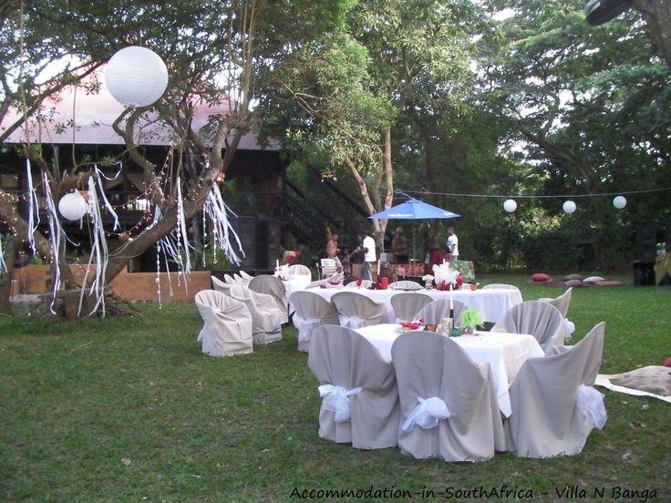 For a special occasion at Villa N'Banga. Mozambique Villa N'Banga.