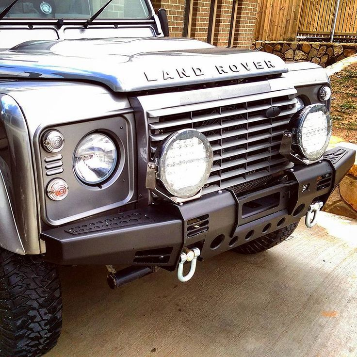 Land Rover Defender Modular Winch Bumper From Equipe 4x4