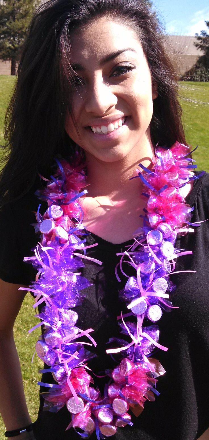 Candy Leis - Graduation, Birthday, Mother's Day, Valentine's Day, Christmas. Perfect gift for any occasion! www.candyleisbyrandm.com