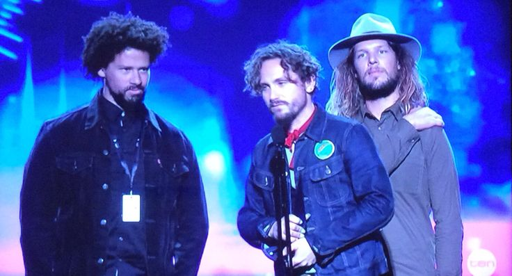 John Butler Trio win Best Blues and Roots