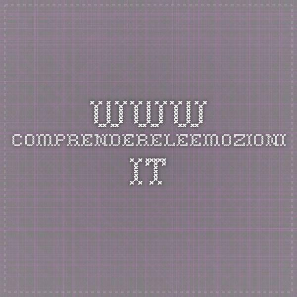 www.comprendereleemozioni.it