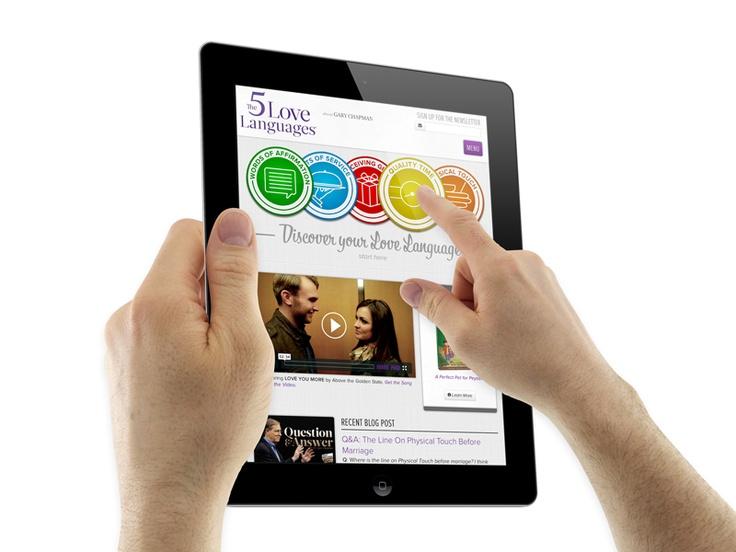 Web Design On A Tablet