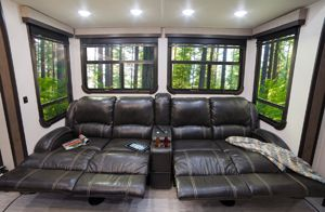 2017 Push Back Recliners Highlander Fifth Wheel RV  See more at www.highlandridgerv.com