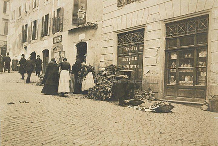 1905 Roma - Una via del ghetto #TuscanyAgriturismoGiratola