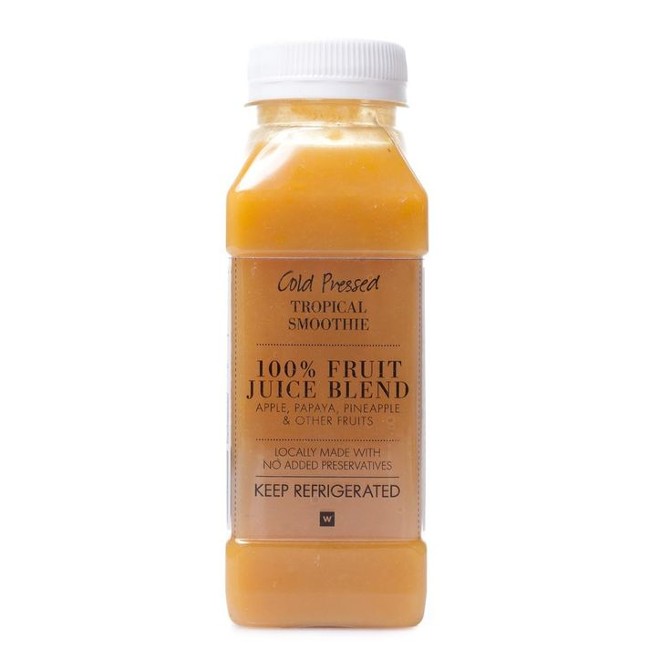 Cold Pressed Tropical Smoothie 250ml