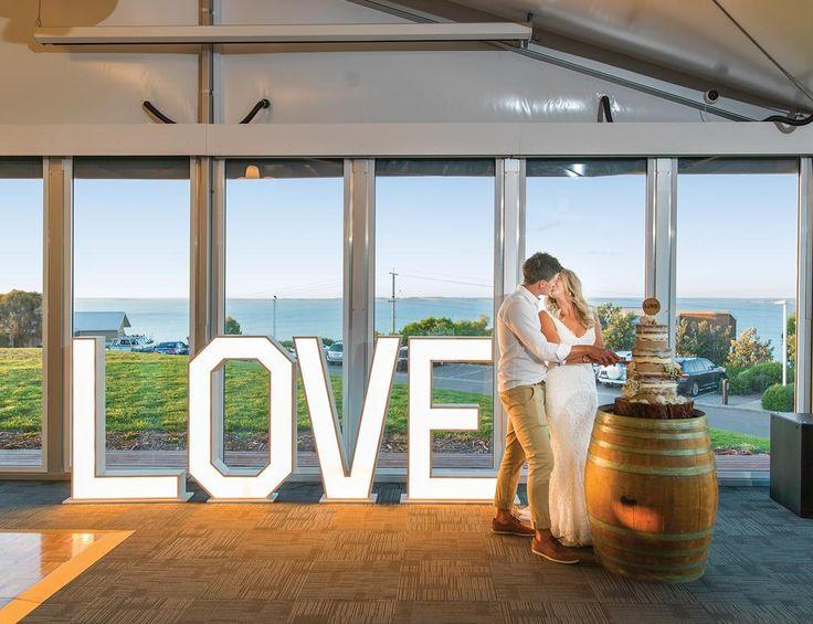 LOVE at Silverwater Resort, San Remo  #silverwaterresort #wedding #brideandgroom #love #resortwedding