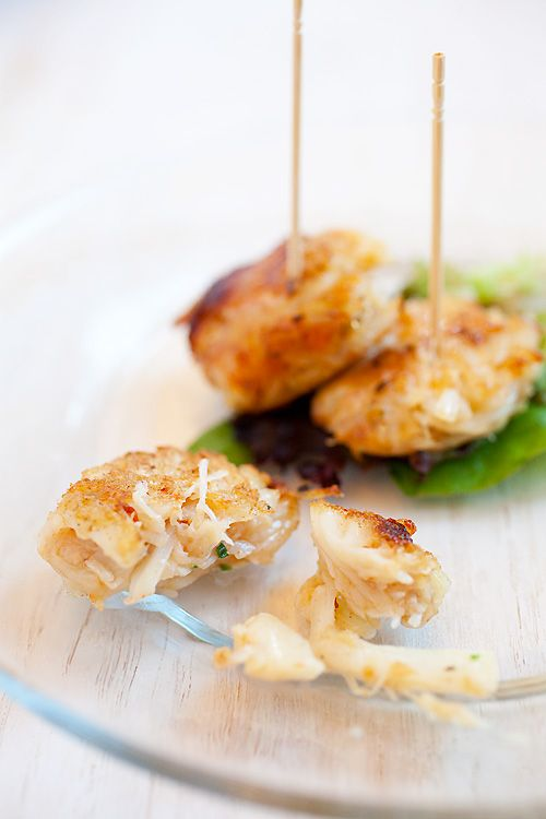 ++ mini crab cakes ++ make this ++ Christmas Eve party~