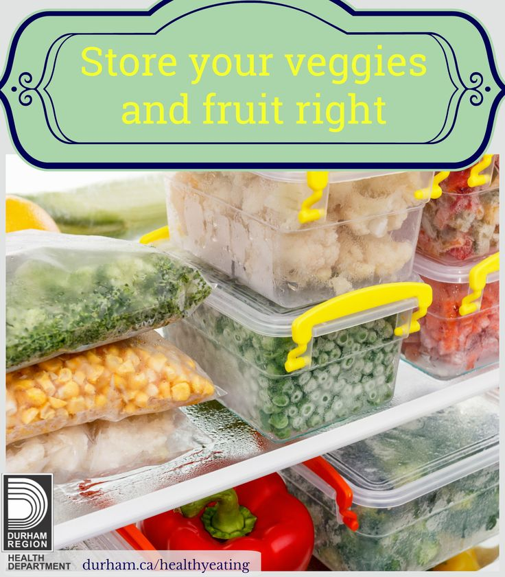 You can freeze most veggies and fruit. To freeze them, blanch vegetables by briefly dipping into boiling water and then in ice-water to stop the cooking process. This will keep the colour and texture. Drain and dry well to keep the ice crystals small and cover and wrap to prevent freezer burn. Some fruit that do not freeze well include pears, sweet cherries, citrus fruits, kiwi and pineapple. For more information, visit our link.