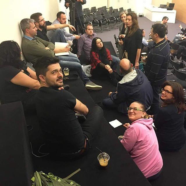 #Happeningnow #MIT #MITEF #startup #competition #Greece #workshop #Athens #3asyR #team