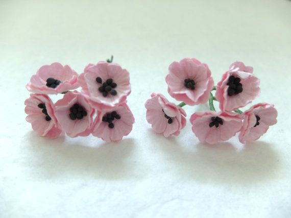 33 best floral supplies images on pinterest art flowers 10 mulberry paper pink poppy by eastmeetswest on etsy craft supplies tools floral supplies artificial flowers plants paper flower flower mulberry mightylinksfo Choice Image