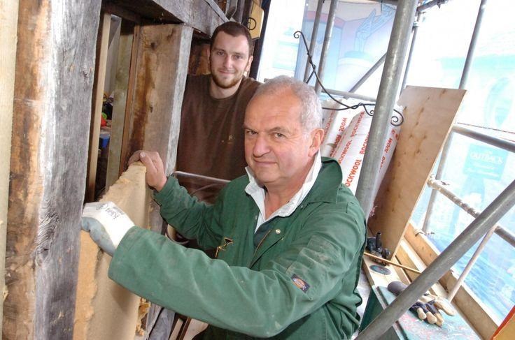 Artwork adorns historic Hereford building's renovation work (From Worcester News)